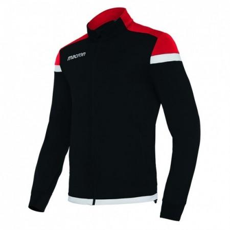 Camiseta TITAN Blanco/Marino/Rojo Macron