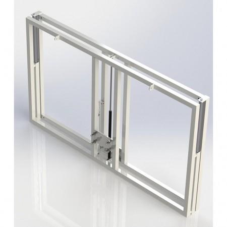 Camiseta de Juego manga corta Macron RODDERS Negro-Rojo
